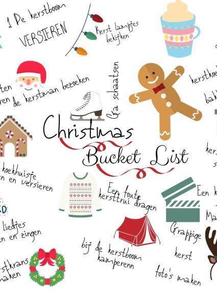 Kerst bucket list 2019! || Advent of Joy