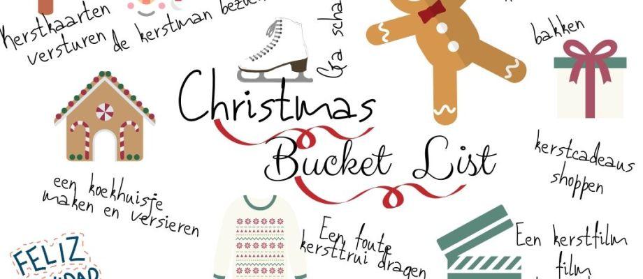 Kerst bucket list 2019!    Advent of Joy