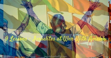 9 Lessons - Israel at war with Amalek