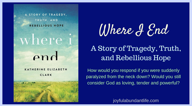 "Where I End: A Story of Tragedy, Truth, and Rebellious Hope""."