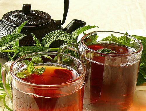 Moroccan Mint Tea  Ayurvedic Diet  Recipes