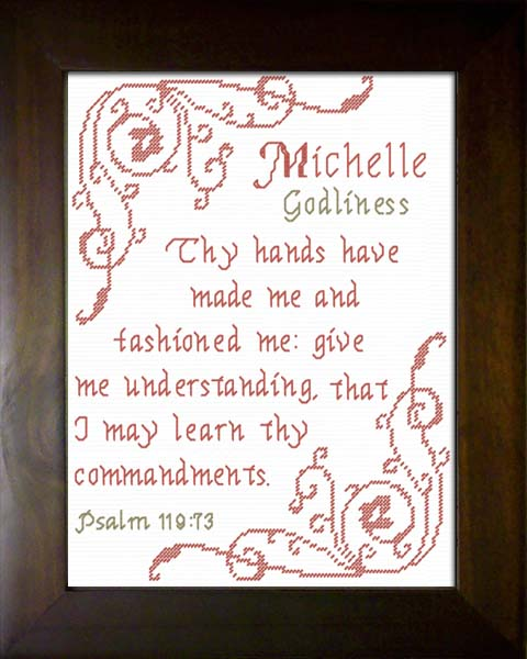 Name Blessings Michelle Personalized Names With