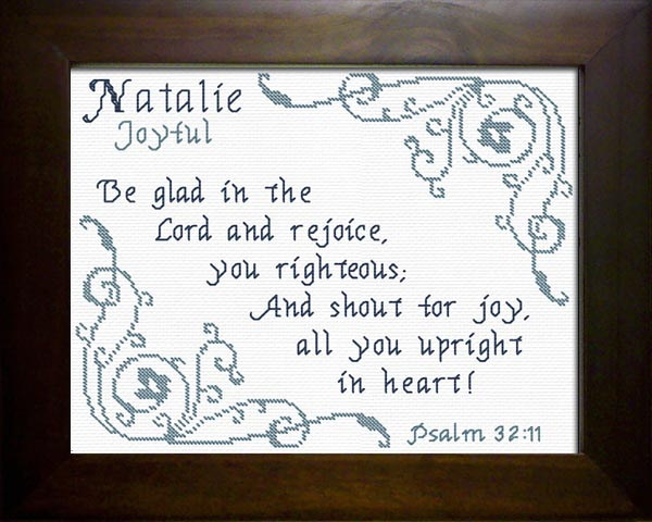 Name Blessings - Natalie - Personalized Names with ...