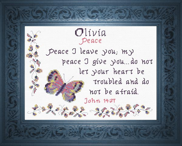 Name Blessings  Olivia2  Personalized Names with Meanings and Bible Verses