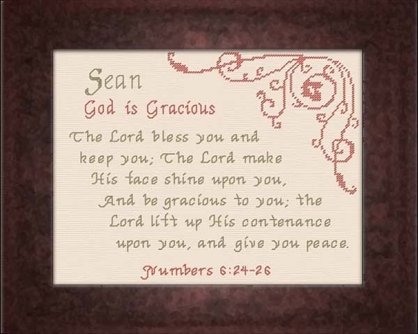 Name Blessings - Sean - Personalized Names with Meanings ...