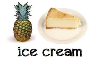 Pineapple Cheesecake Homemade Ice Cream