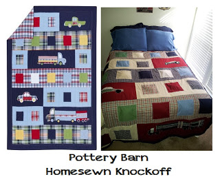 Pottery Barn Homesewn Knock-off