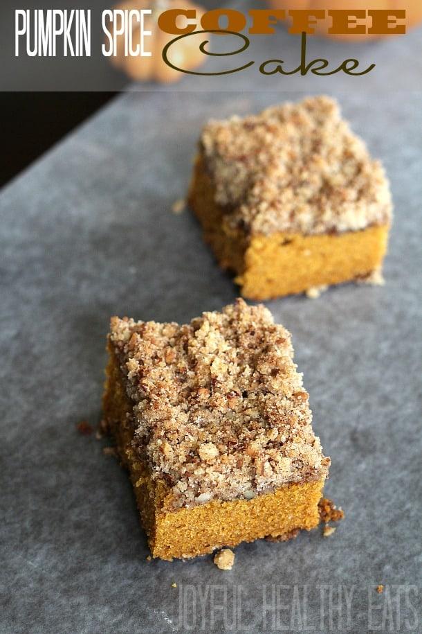 Pumpkin Spice Coffee Cake #coffeecake #breakfast #pumpkinrecipes