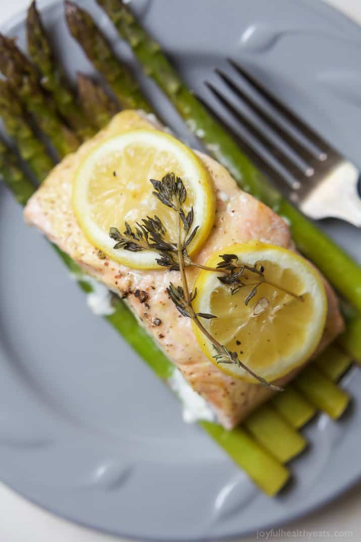 asparagus salmon in foil easy dinner recipes quick