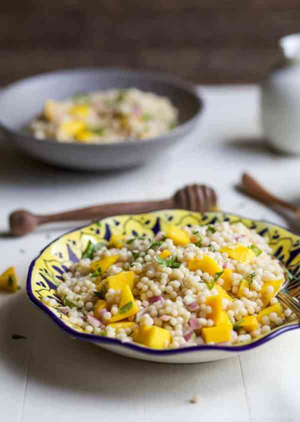 Mango Couscous Salad Easy Healthy Recipes Using Real