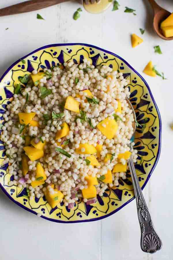 Mango Couscous Salad Easy Healthy Recipes