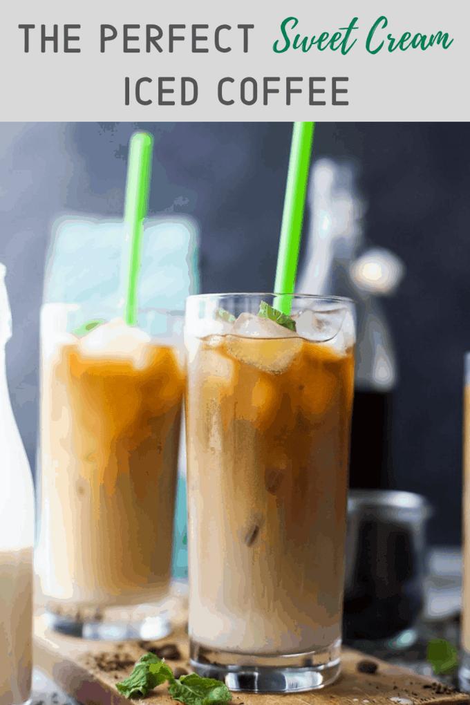 Starbucks Sweet Cream Cold Brew Recipe Card | Sante Blog
