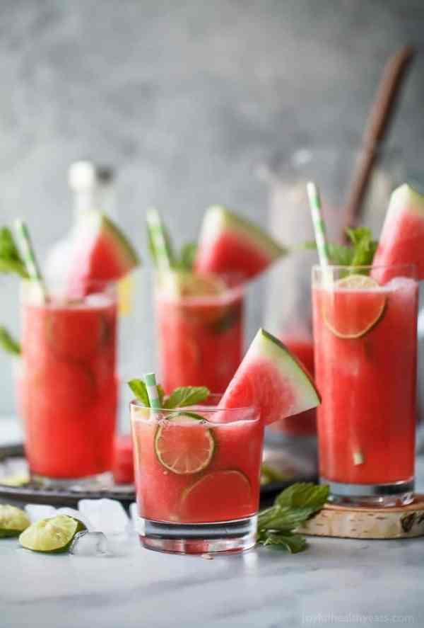 Vodka Watermelon Cocktail Recipe Summer Cocktails