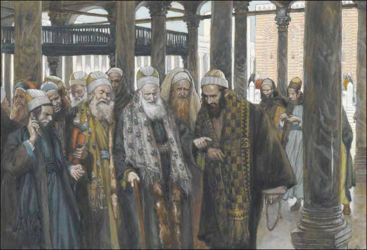 Tissot, The Chief Priests Take Counsel Together