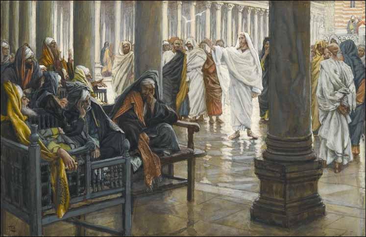 escribas e os fariseus sentaram-se na cadeira de Moisés.
