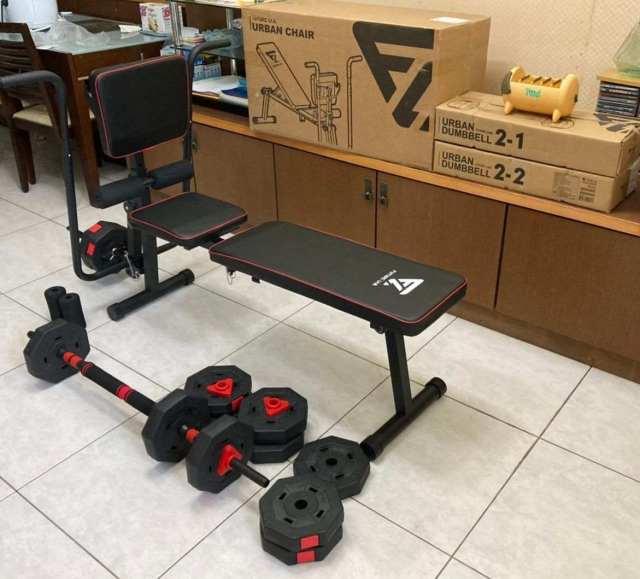 Futurelab城市健身組組裝完畢2