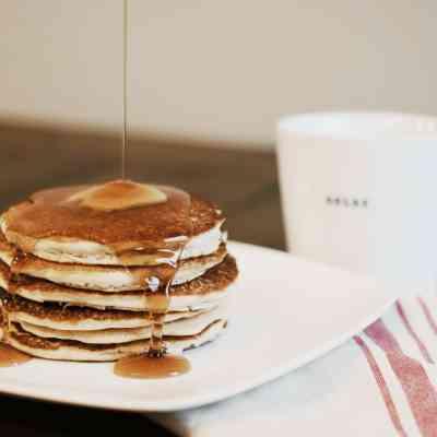 Fluffy Homemade Gluten-free Pancake Recipe