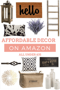 Affordable Decor Finds on Amazon
