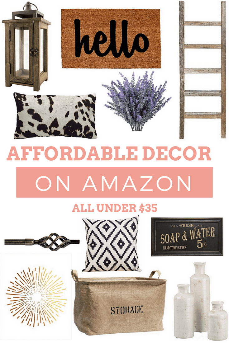 Affordable Amazon decor for under $35