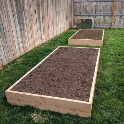 Our First Garden – DIY Raised Garden Beds