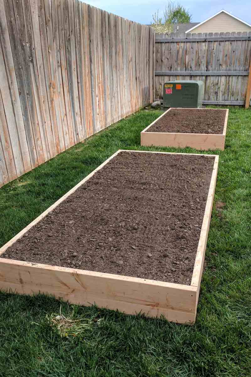 Our First Garden – DIY Raised Garden Beds