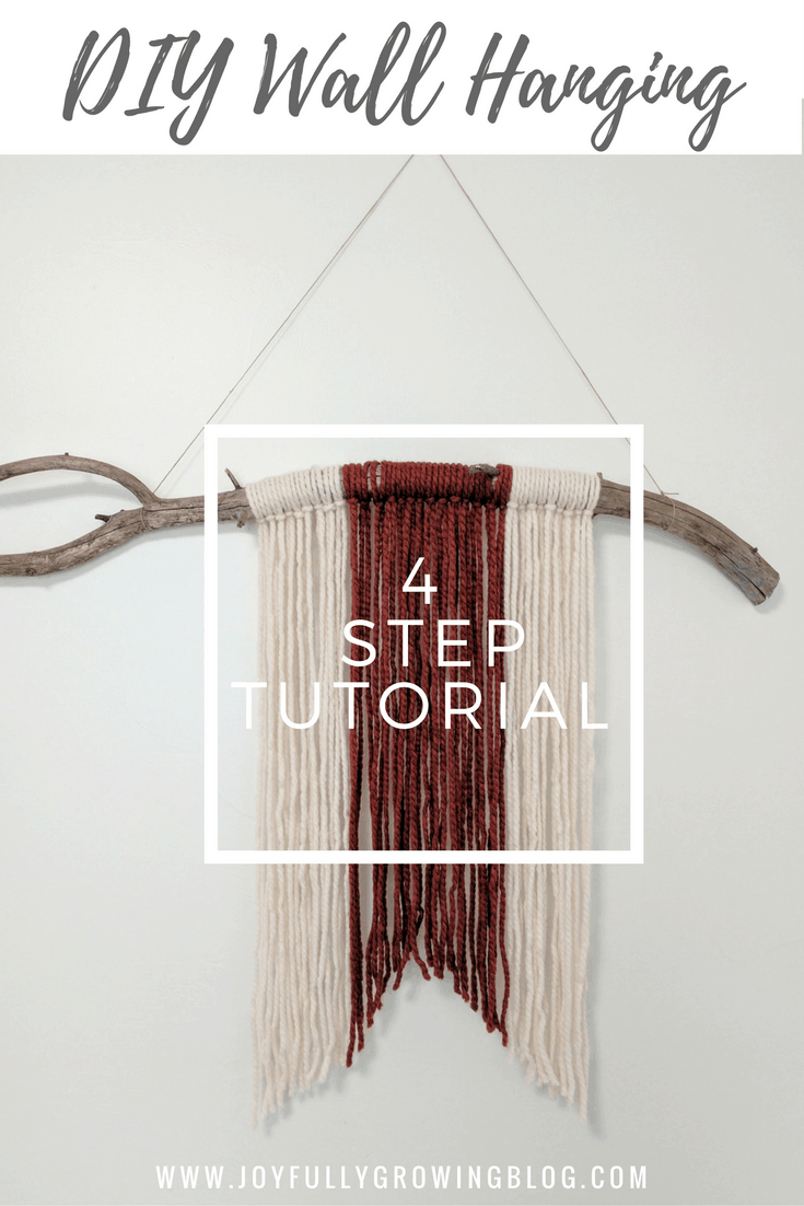 How To: Super Simple DIY Wall Hanging
