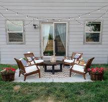 Small Patio Makeover Budget Joyfully Growing