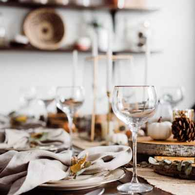 Rustic Thanksgiving Table + a few helpful tips