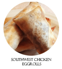 southwest chicken eggrolls