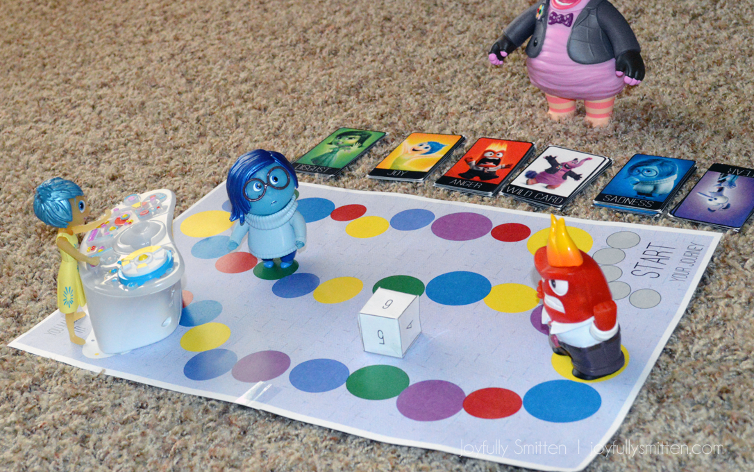 Inside Out Emotions Board Game Play3