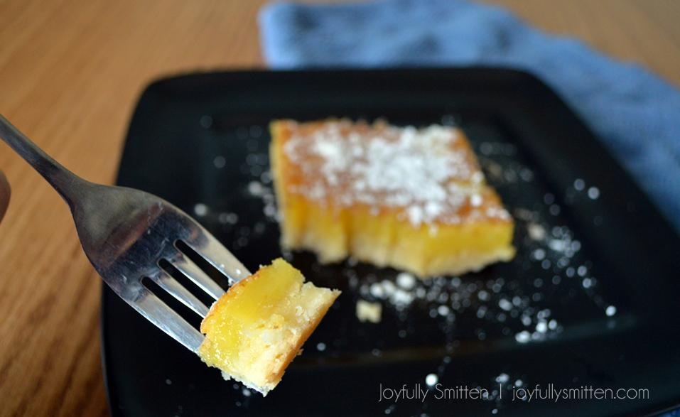 Luscious Lemon Bars by Joyfully Smitten. This delicious recipe is one you'll want to make time and time again.