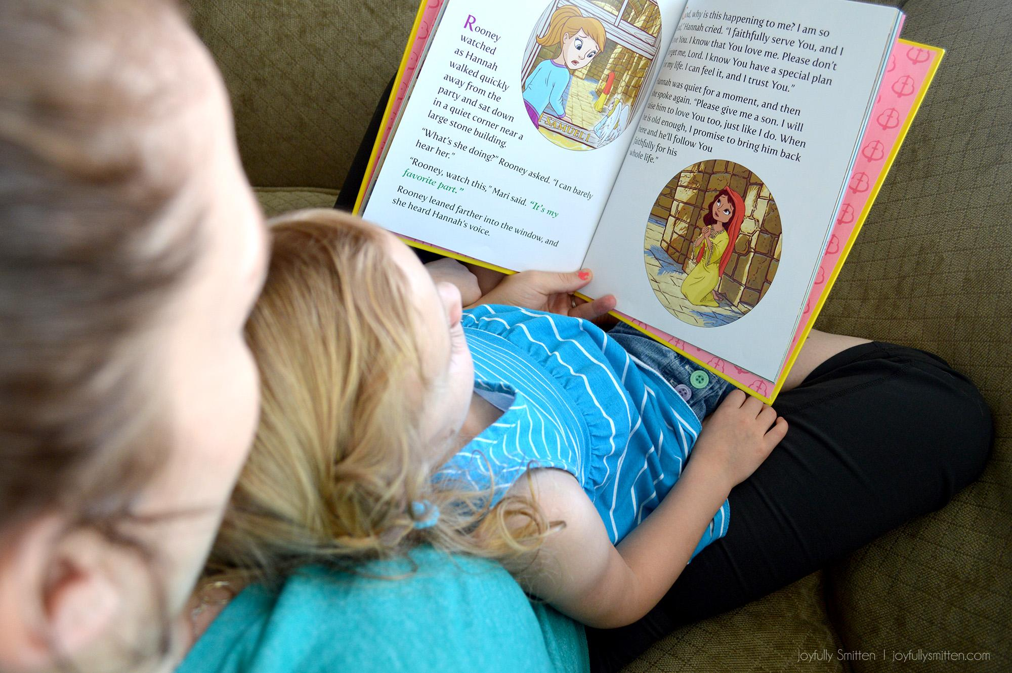 Bible Belles: Hannah the Belle of Prayer.  Little Readers at JoyfullySmitten.com
