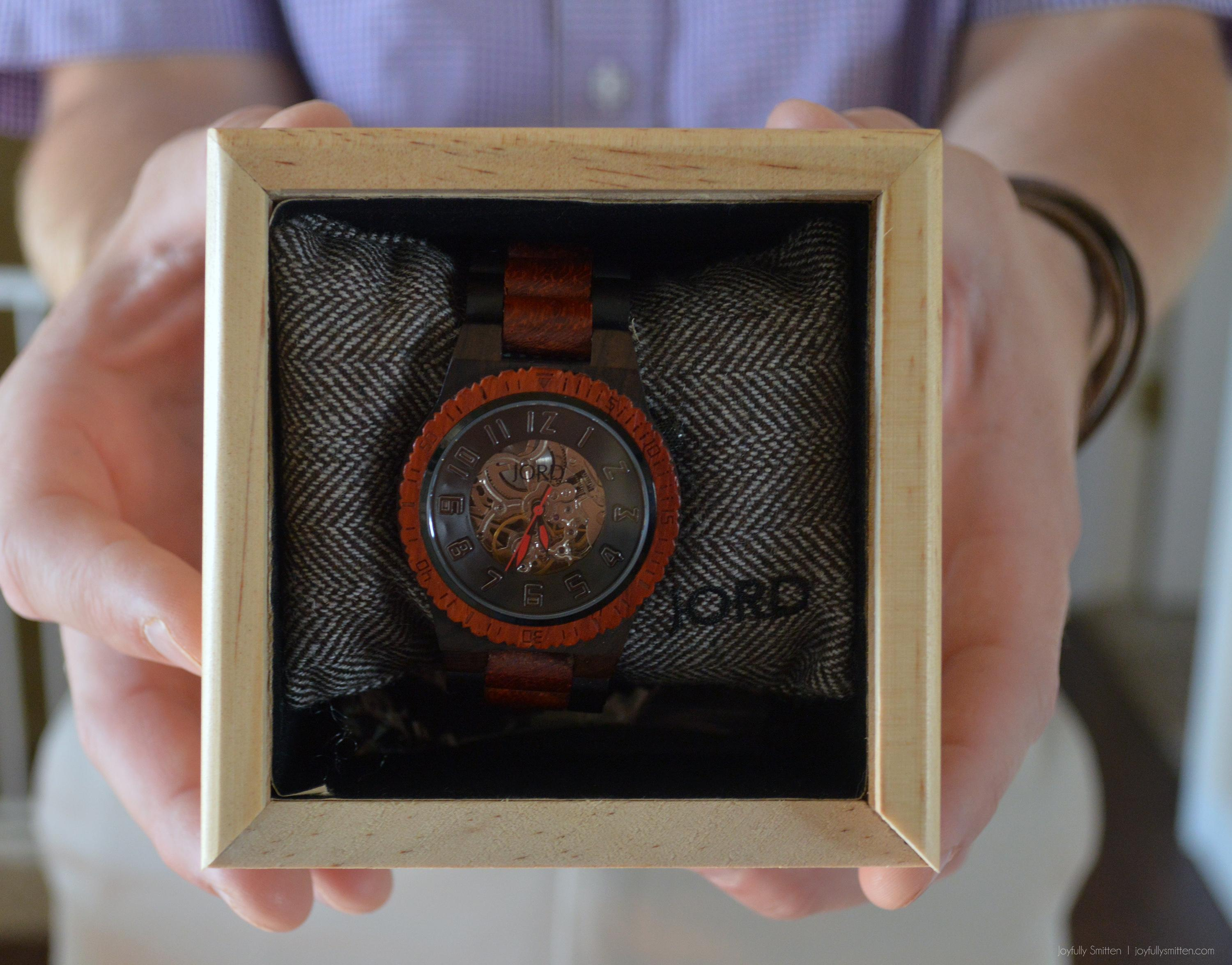 JORD wood watches - mens designer watches