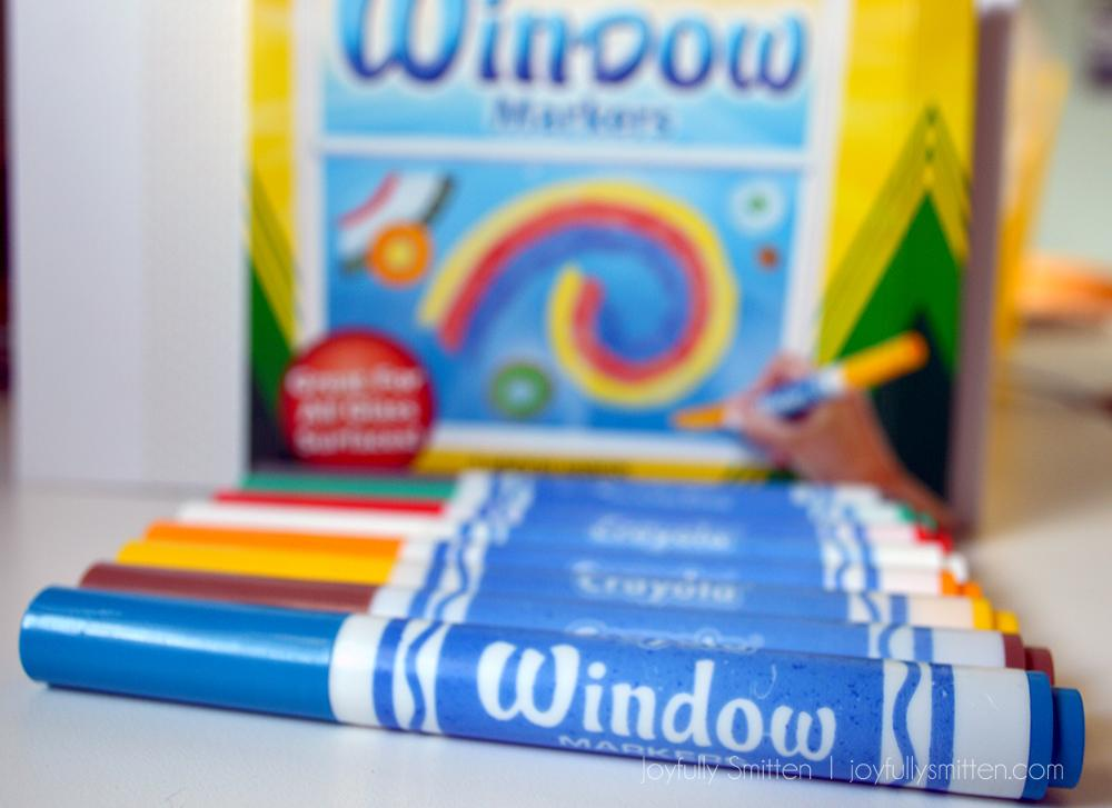 Window Markers with Crayola - Make Learning and Back to School even more fun with the fun new products that Crayola offers that are perfect for the school year!