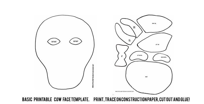 chick fil a cow appreciation day printable mask joyfully smitten