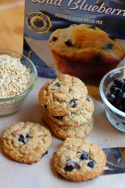 Blueberry Muffin Cookies