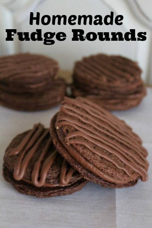 12 Days of Christmas Cookies: Homemade Fudge Rounds
