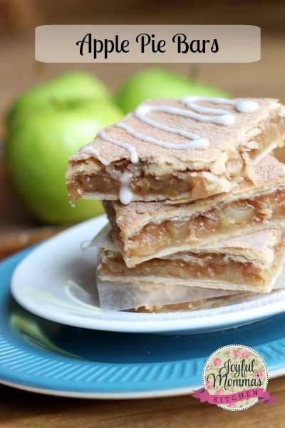 National Apple Pie Day - Apple Pie Bars