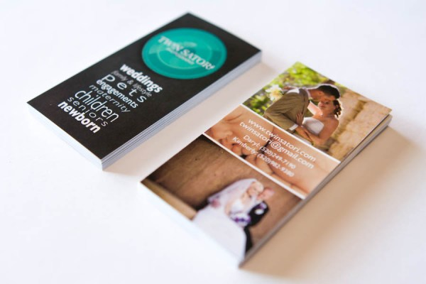 Twin Satori Photography Business Cards