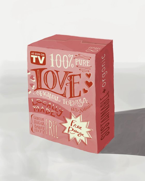 Box of Love - Emily McDowell