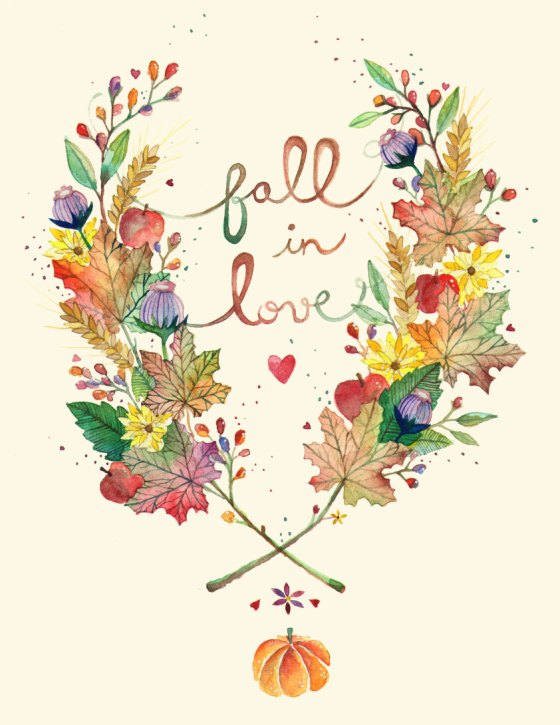 Fall In Love {Inspirational Image Friday} by Ana Victoria Calderon