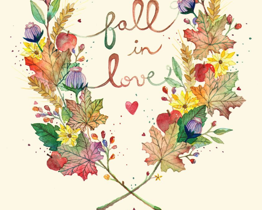 Fall In Love (Inspirational Image Friday)