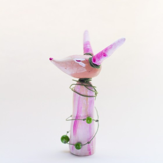 Papercaly Creature Figurines and Art Dolls by Kimberly Kling