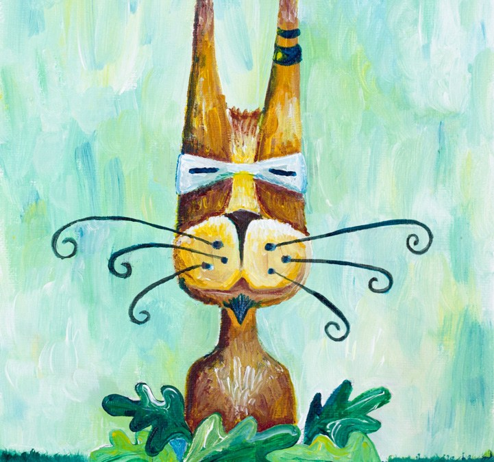 Whiskers {Illustration Friday}