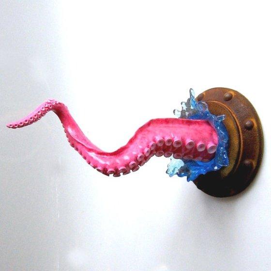 Octopus Wall Holder