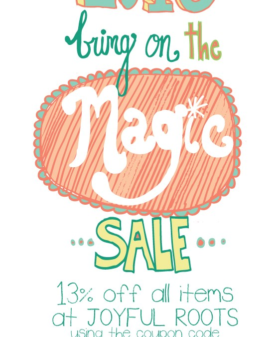 2013 Bring On The Magic Sale