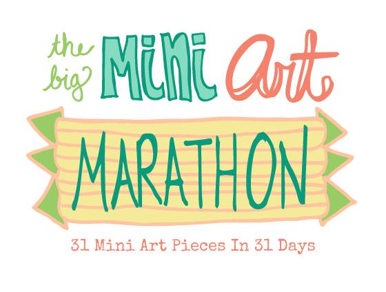 the big MINI ART MARATHON!