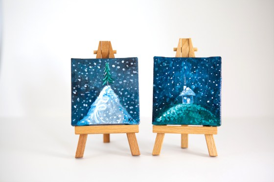 Miniature Canvas Art by Joyful Roots