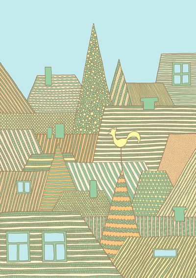 Rooftops by Anita Ivancenko
