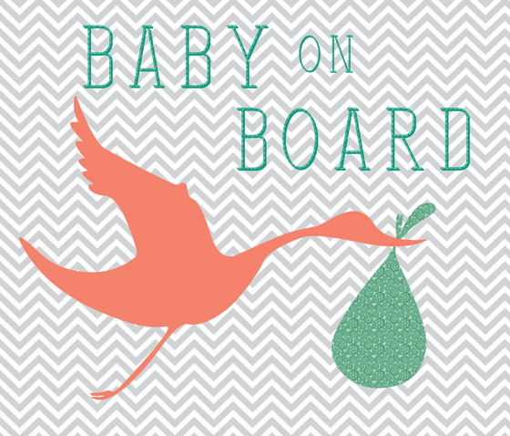 Baby On Board Graphic by Joyful Roots